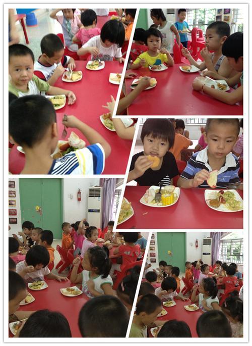> 幼儿园动态   用餐礼仪1:自觉地维护公共
